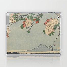 Cherry Blossoms on Spring River Ukiyo-e Japanese Art Laptop & iPad Skin