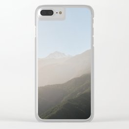 Merida's sierra nevada Clear iPhone Case