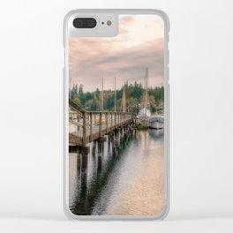 Bainbridge Harbor Clear iPhone Case