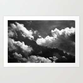 Cloudy 1 Art Print