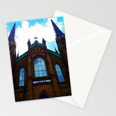 Holy Door Stationery Cards