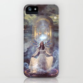 Hostage to the Light iPhone Case