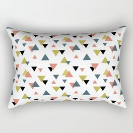 Triangle colorful pattern Rectangular Pillow