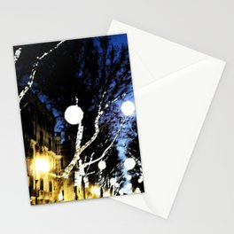 Christmas City Lights Stationery Cards