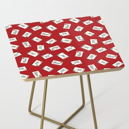 Letters to Santa Side Table