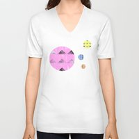compass V-neck T-shirts featuring Compass by Last Call