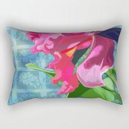 Cattleya Orchid Rectangular Pillow