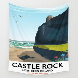 castle rock northern ireland Wall Tapestry