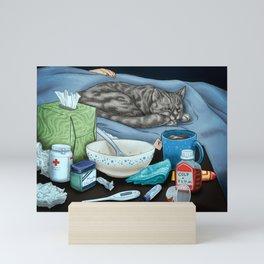 Sleep It Off (Get Well Soon) Mini Art Print