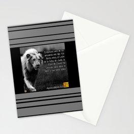 Apocalipsis 5:5 Stationery Cards