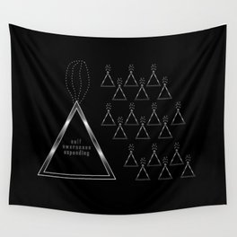 SELF AWARENESS EXPANDING Wall Tapestry