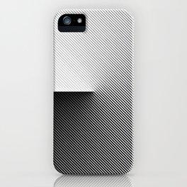 B&W 001 iPhone Case