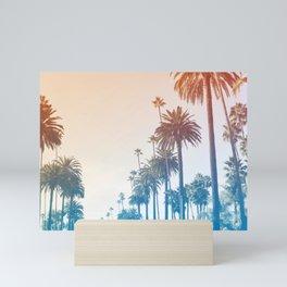 Summer in LA Mini Art Print