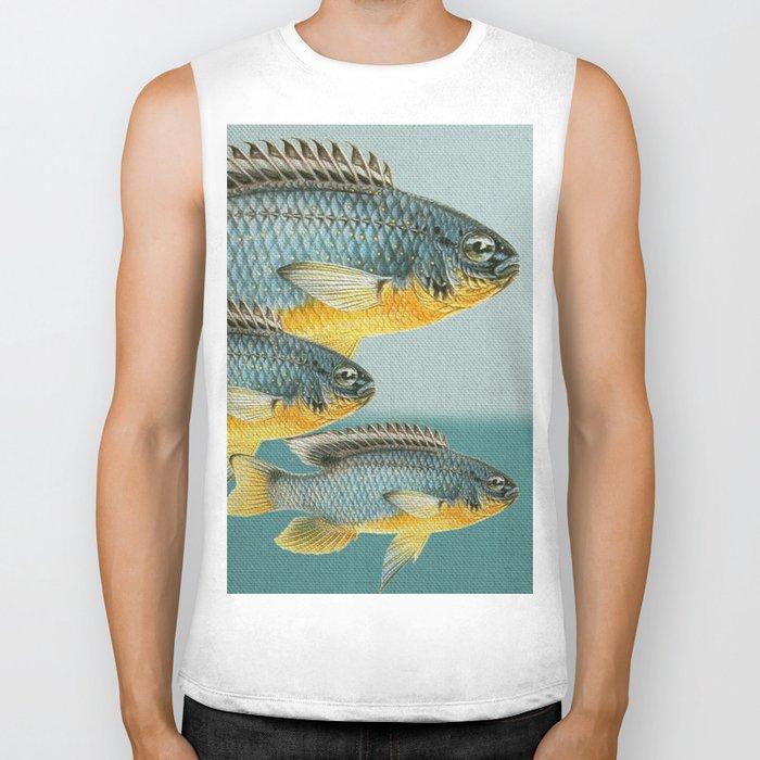 Fish Classic Designs 12 Biker Tank