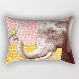 New Friends 2 by Eric Fan and Garima Dhawan Rectangular Pillow