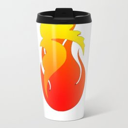 2017 - Fire Rooster Year T-Shirt Travel Mug