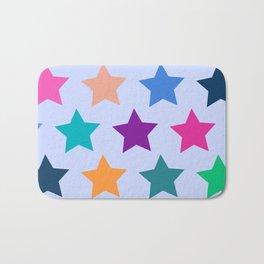 Colorful Stars Bath Mat
