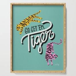 Go Get 'Em Tiger – Mint Palette Serving Tray