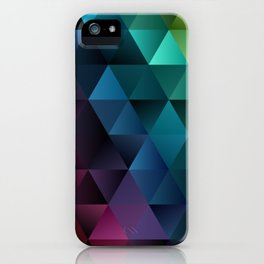 Rainbow at Night iPhone Case
