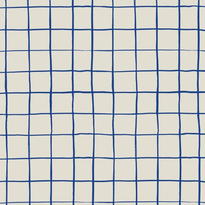 BASIC | Criss Cross Blue Comforters