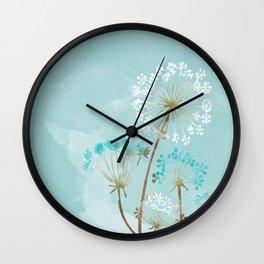 Turquesa Wall Clock