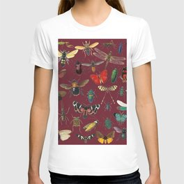 Lovely Butterfly Red T-shirt