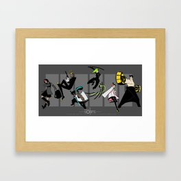 But Bein Alone's the Only Way to Be Framed Art Print