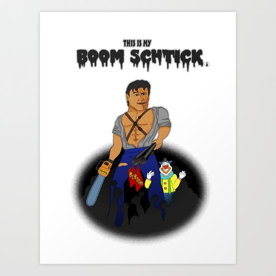 Boom Schtick Art Print