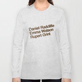 Harry P cast Long Sleeve T-shirt