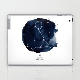 Zodiac Star Constellation - Pisces Laptop & iPad Skin