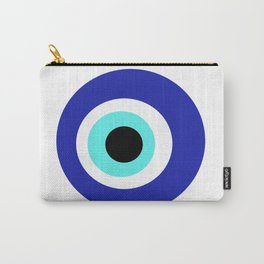 Blue Eye Carry-All Pouch
