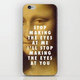 Mona on the Dancefloor iPhone Skin