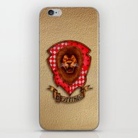 gryffindor iPhone & iPod Skins featuring Gryffindor shield emblem by JanaProject