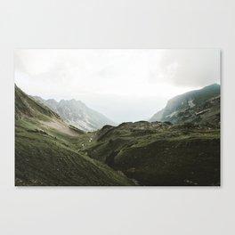 Beam Landscape Photography Canvas Print