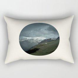 Scandinavian Landscape Rectangular Pillow