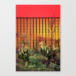 Plants from outer space - Los Angeles #89 Canvas Print