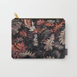 Autumn to winter dry leaves Carry-All Pouch