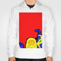 hell Hoodies featuring Hell by Alec Goss