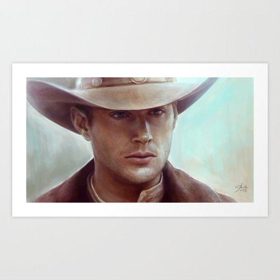 Dean Winchester from Supernatural Art Print