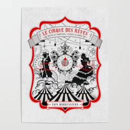 The Night Circus - light Poster