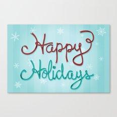 Holiday Ribbon Canvas Print