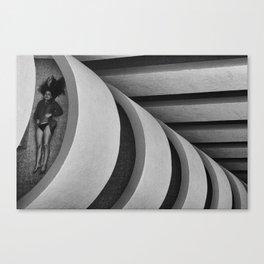 Geometric feelings Canvas Print