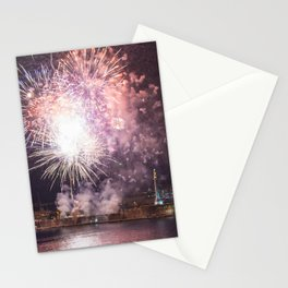 Fireworks of August 15th Stationery Cards