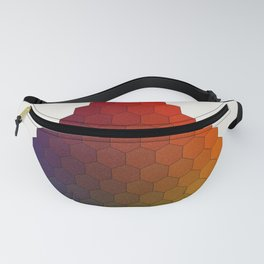 Lichtenberg-Mayer Colour Triangle variation, Remake using Mayers original idea of 12+1 chambers Fanny Pack