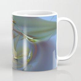 Blue Heron Strutting Out Of Frame Coffee Mug
