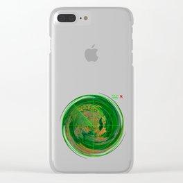 MindMap.02 - Reality Radar Clear iPhone Case
