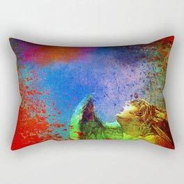The shout of fallen angels Rectangular Pillow