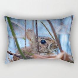 Hiding Rabbit2 Rectangular Pillow
