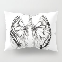 Butterfly Lungs Pillow Sham