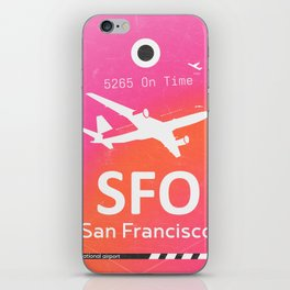 SFO San Francisco iPhone Skin